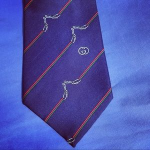 Rare and beautiful horsebit tie from Gucci